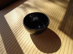 茶碗「山めぐり―熊」本田健×本田恵美(陶芸)2012年